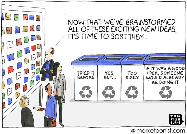 Marketoonist Tom Fishburne July 13 Cartoon