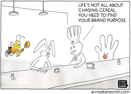 Brand Purpose Tom Fishburne Marketoonist Cartoon