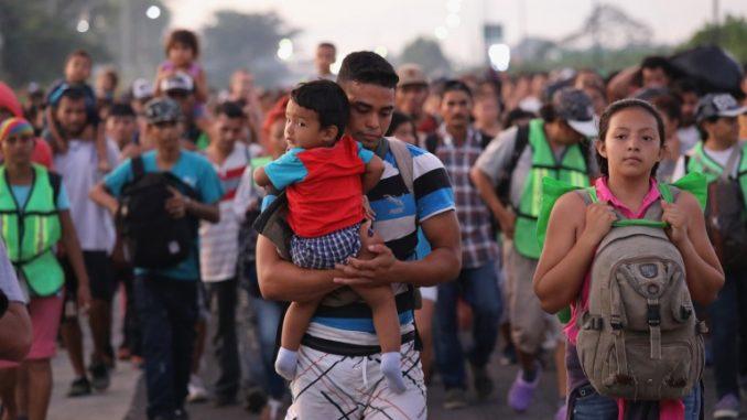 La Caravana de Inmigrantes Asylum Seekers