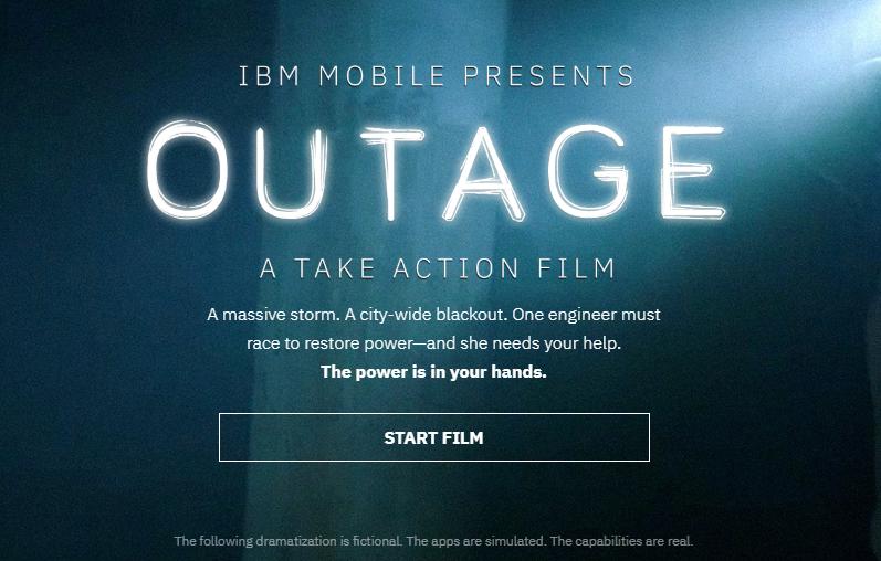 IBM Interactive Content Example