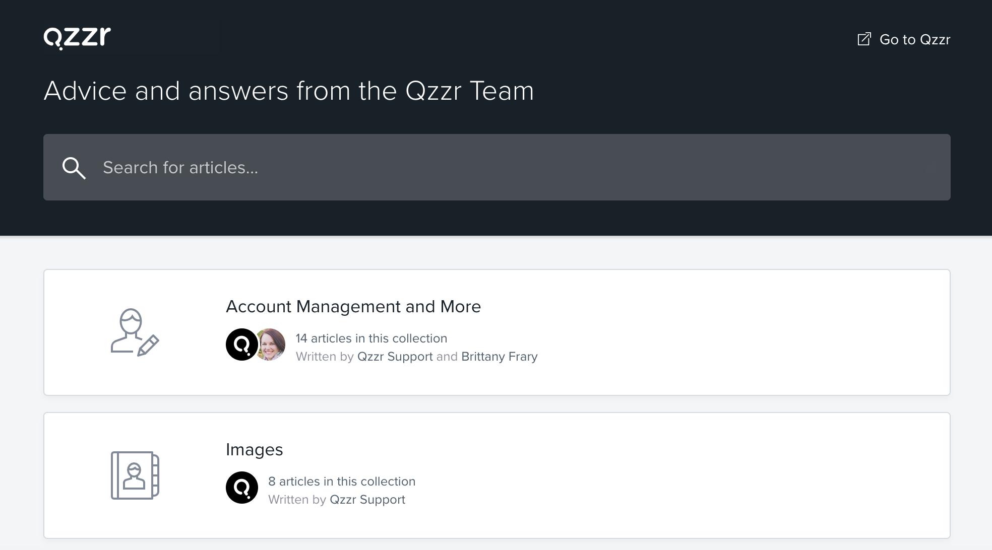 Qzzr Resource Hub