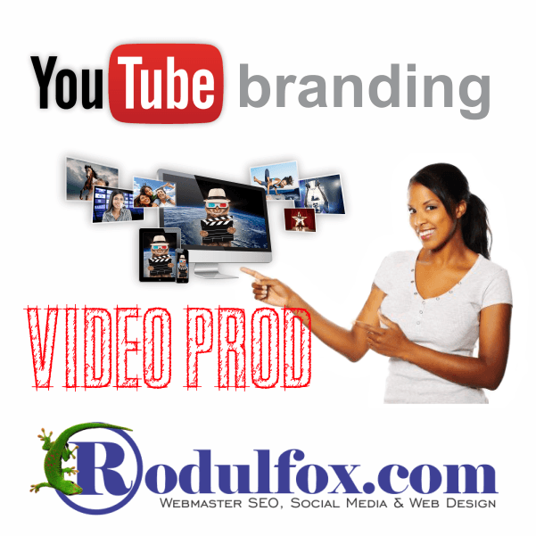 Video Prod and YouTube Branding