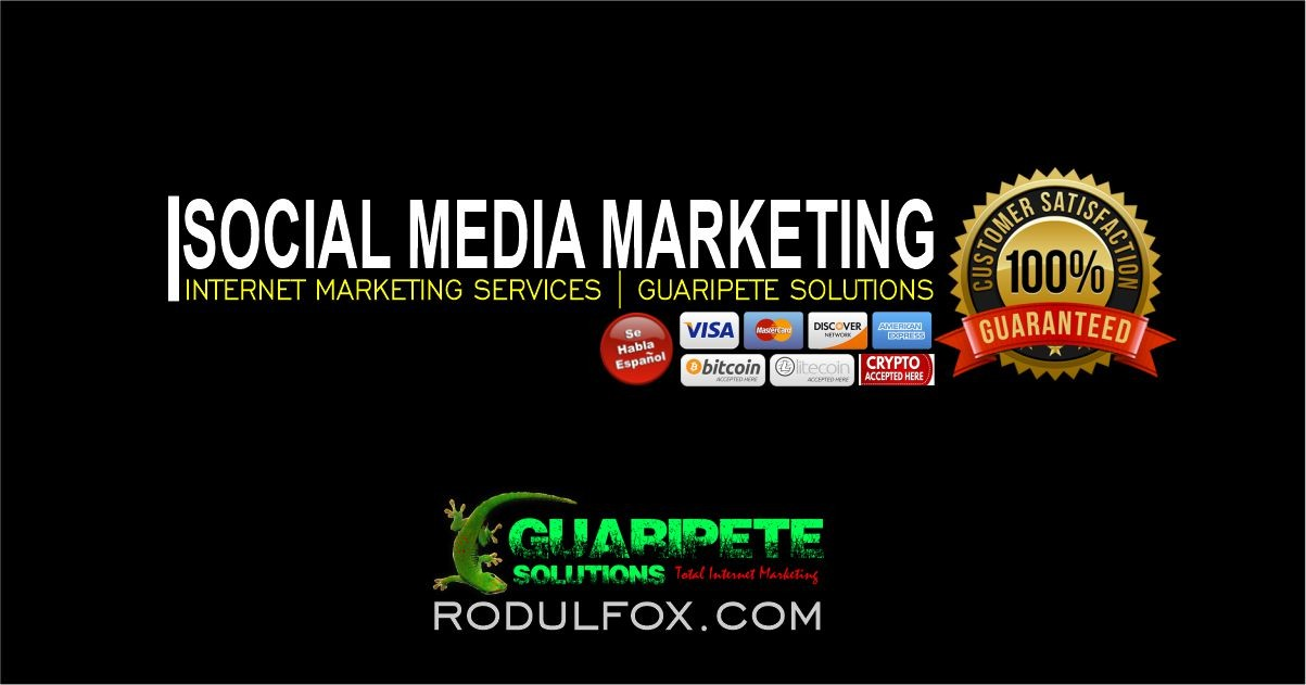 Affordable Social Media Marketing Services by Guaripete Solutions