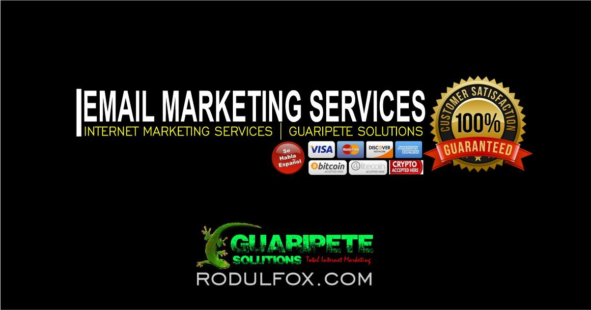 Email Marketing Services by Guaripete Solutions