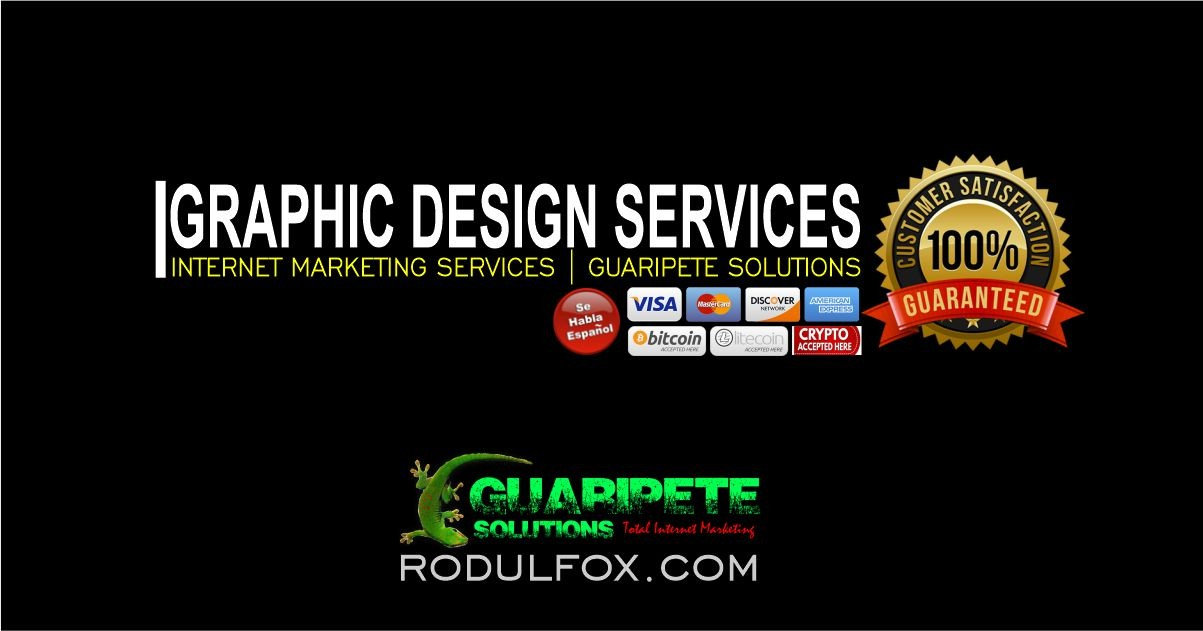 Graphic Design Services by Guaripete Solutions