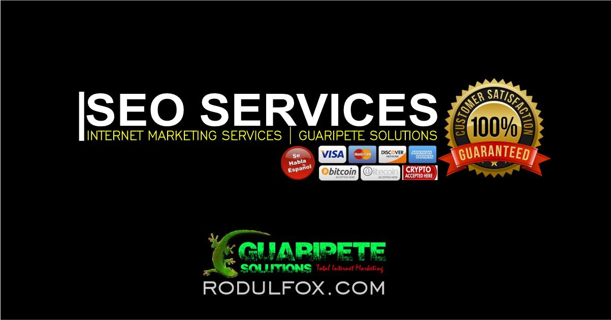 SEO Services by Guaripete Solutions