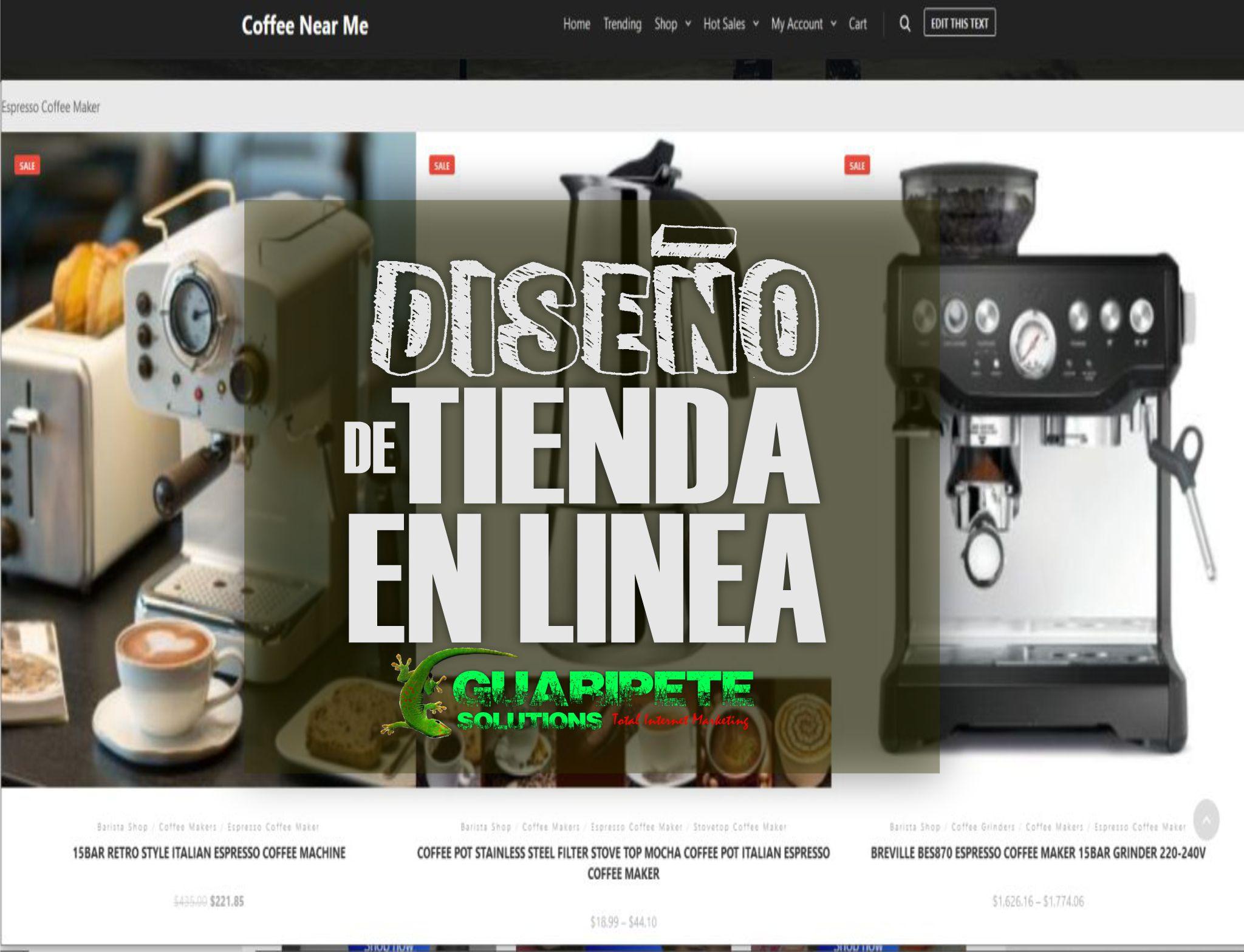Servicio de Diseño de Tienda en Linea