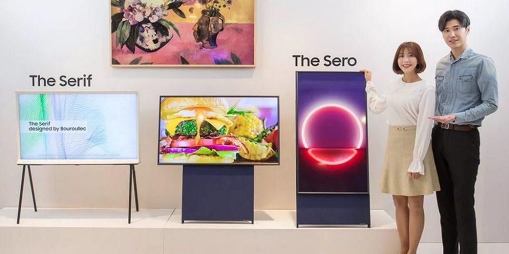 Samsung lanza 'The Sero', su primer televisor vertical