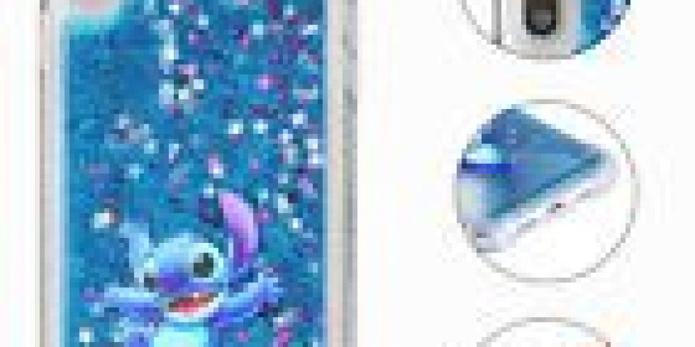Cute Disney Liquid Quicksand Cover Phone Case For iPhone Xs Max XR 5s 6 7 8 Plus