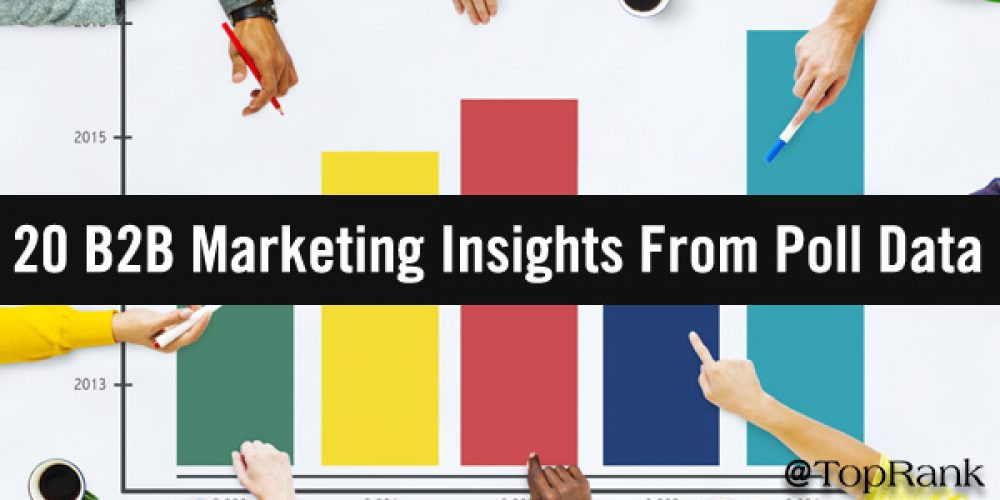 Show Me The Numbers: 20 B2B Marketing Insights From Audience Poll Data