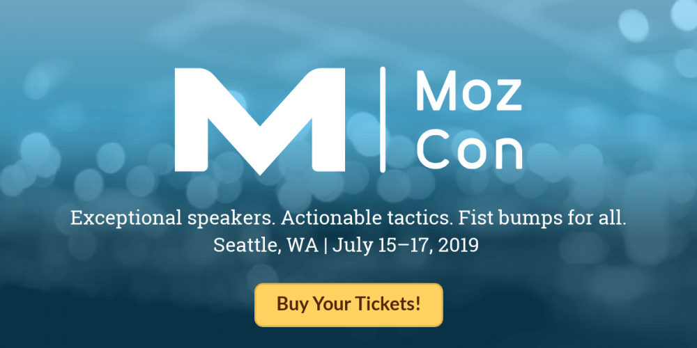 The 2019 MozCon Final Agenda Has Arrived!