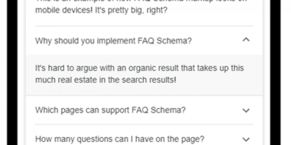 FAQ, HowTo, and Q&A: Using New Schema Types to Create Interactive Rich Results