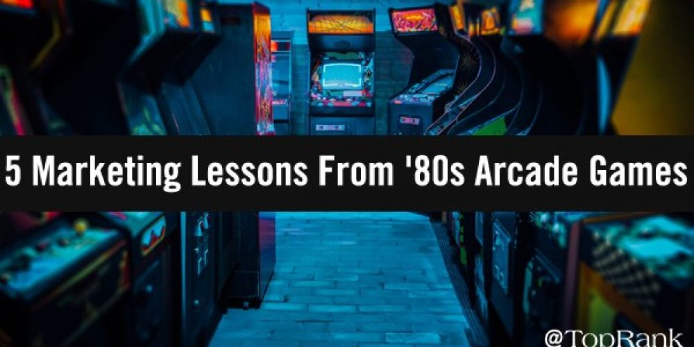 Hyperspace: 5 Surprising Marketing Lessons From '80s Arcade Games