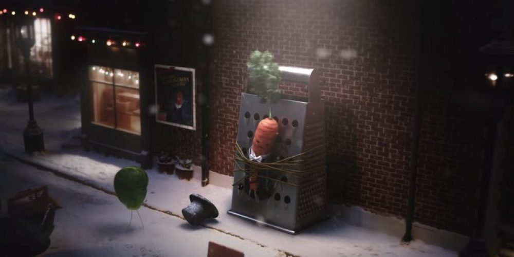 Una zanahoria cantante protagoniza este spot navideño de Aldi