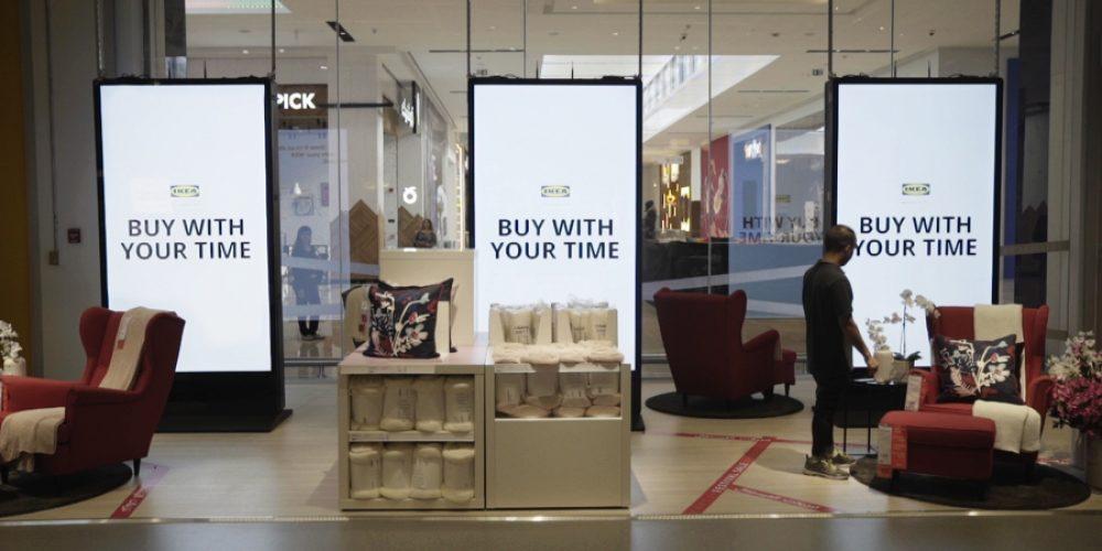 IKEA permite pagar con tiempo en su nueva tienda de Dubái