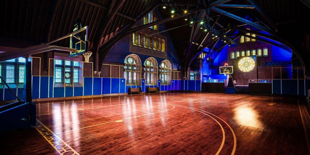 Así es como Nike transformó una iglesia abandonada en un templo dedicado al deporte