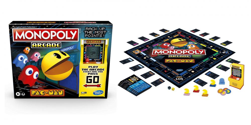 Monopoly lanza una nueva edición Pac-Man con mini juego arcade incluido
