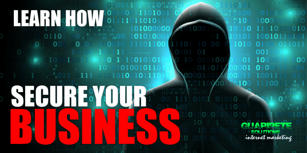 Protect your Online Business | Monday September 30th