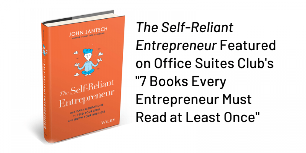 7 Books Every Entrepreneur Must Read at Least Once – The Self-Reliant Entrepreneur