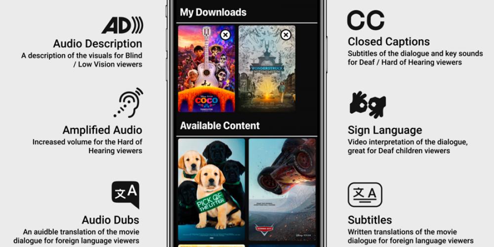 Esta app se sincroniza con la tele y traduce las películas a la lengua de signos