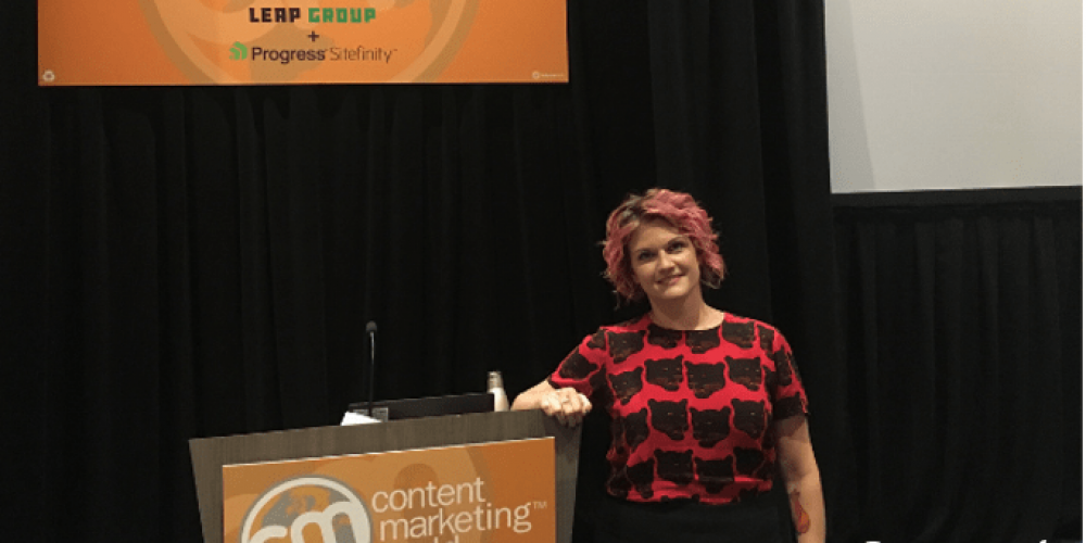 April Henderson on Data-Driven, Empathetic B2B Content #CMWorld