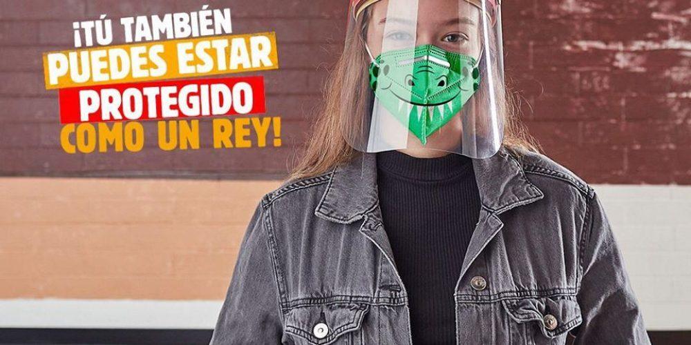 Burger King reinventa su corona y le añade un protector facial