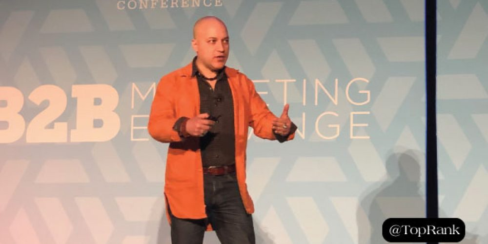 Carlos Abler of 3M Asks B2BMX Attendees: Can Marketing Save the World?