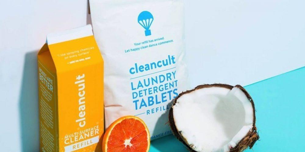 Esta marca vende productos de limpieza en cartones de leche para reducir los deshechos plásticos