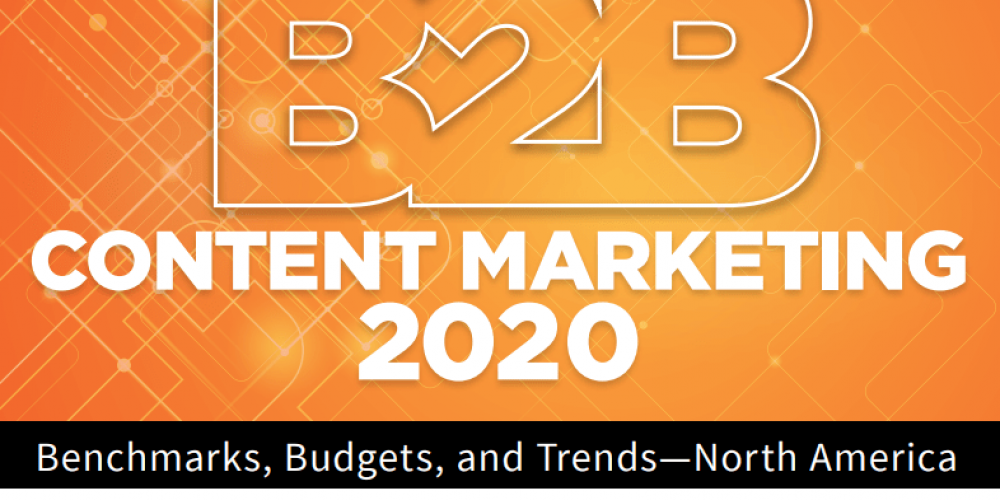 Class Is In Session: 8 Opportunities From the 2020 B2B Content Marketing Benchmarks Report