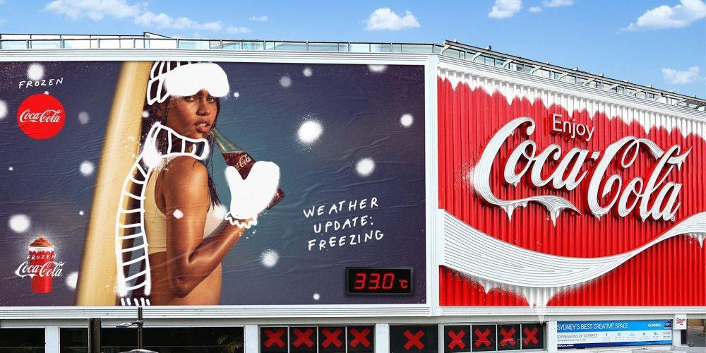 Coca-Cola refresca el verano en Australia con una campaña helada