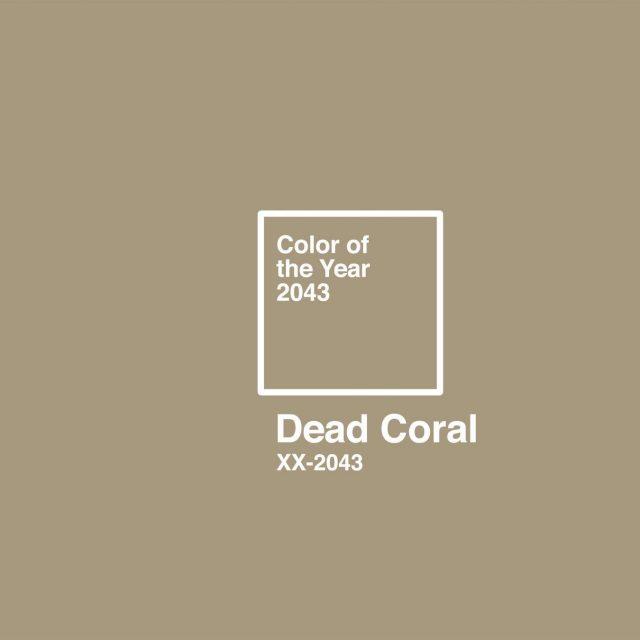 Esta campaña dice que el color del año 2043 será el PANTONE 'Dead Coral'