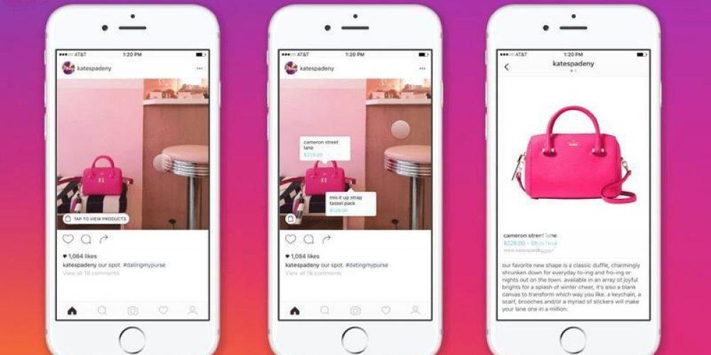 Instagram permite comprar productos sin salir de la aplicación
