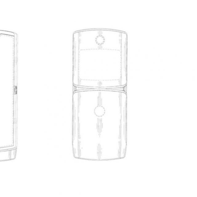 Patente de Motorola revela lo que podría ser el nuevo teléfono plegable RAZR de Lenovo