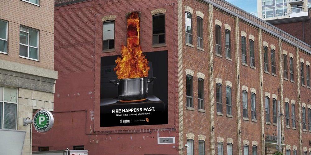 Una peculiar campaña contra los incendios domésticos en Canadá