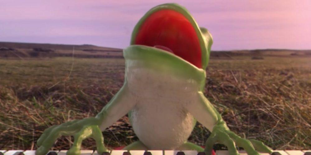 Dos ranas cantan contra el brexit en este indescriptible anuncio