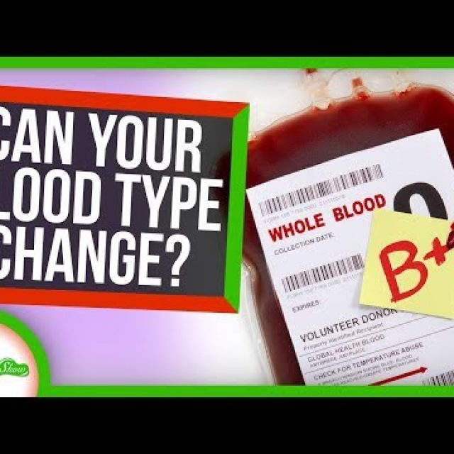 Could Your Blood Type Ever Change?