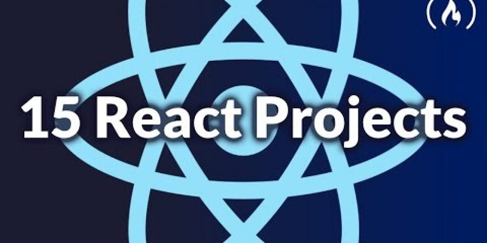 Code 15 React Projects – Complete Course