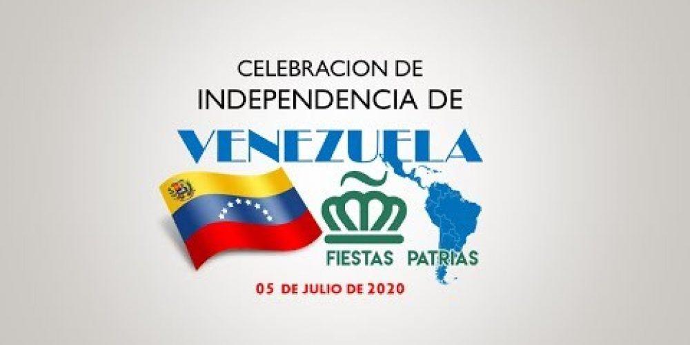 Celebracion Independencia de Venezuela a cargo del Comité Fiestas Patrias de Charlotte