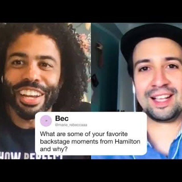 The Hamilton Cast Answers Hamilton Questions From Twitter | Tech Support | WIRED