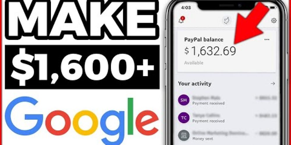 Make $1,600+ FAST & FREE Searching Google (How to Make Money Online)