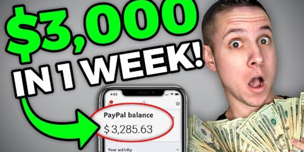 How To Make $3k in One Week! | How to Make Money During Quarantine *FAST*