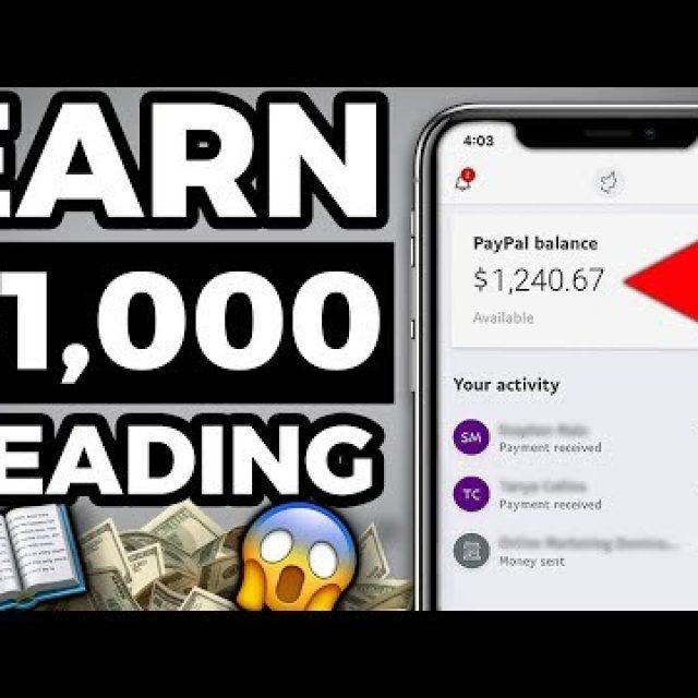 Earn $1,000 in One Week READING Aloud! (How to Make Money Online)