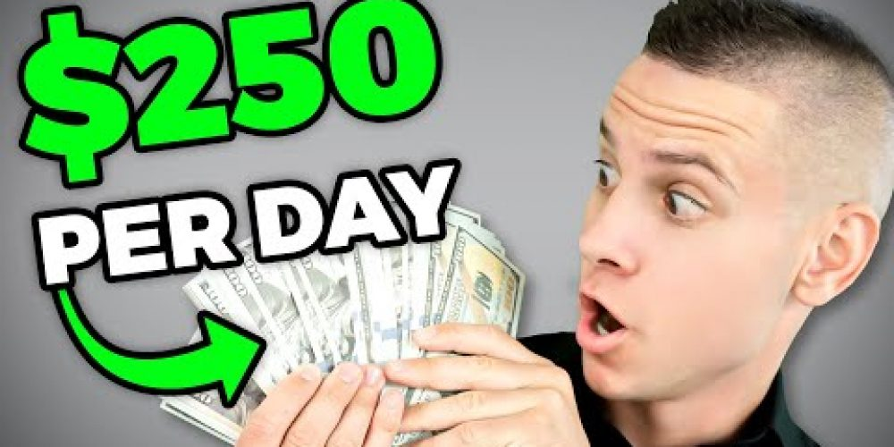 How To Make $250 PER DAY & Make Money Online Fast With NO Website!