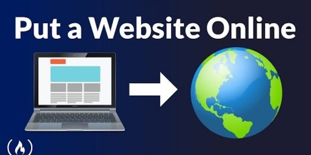 How to Put a Website Online – Creation, Domain, Hosting, DNS