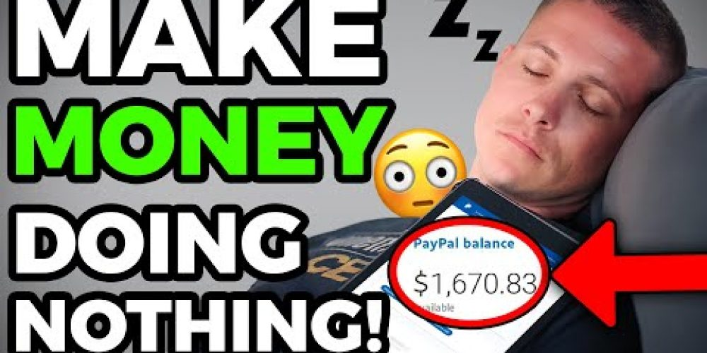 Do NOTHING & Get Paid PayPal Money For FREE (Make Money Online – Kevin David)