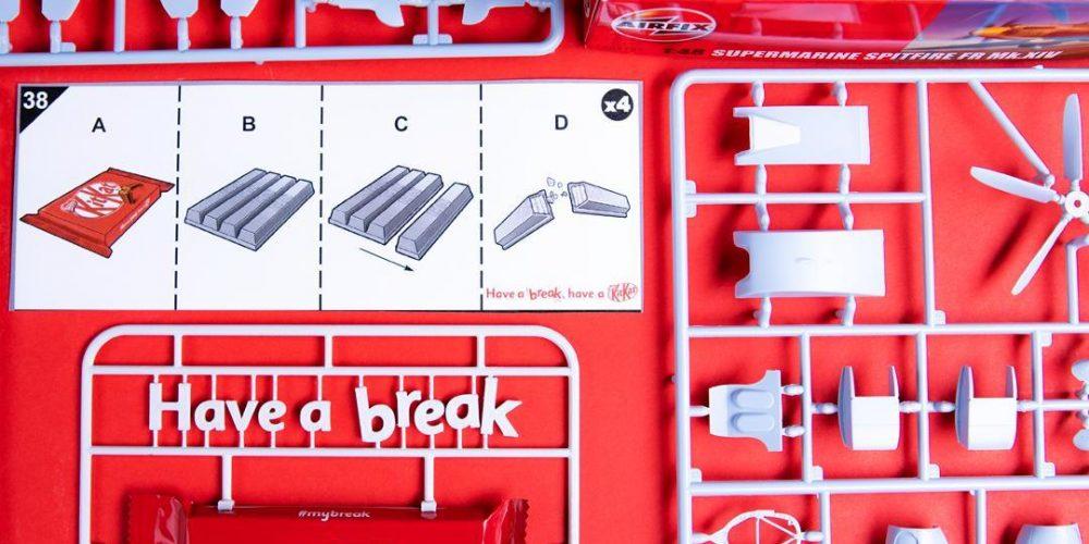 Así es como Kit Kat recordó a los aficionados a las maquetas la importancia de tomarse un respiro
