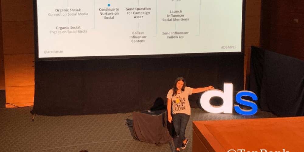 TopRank Marketing's Ashley Zeckman Shares How to Build Consumer Trust with Influencers #DSMPLS