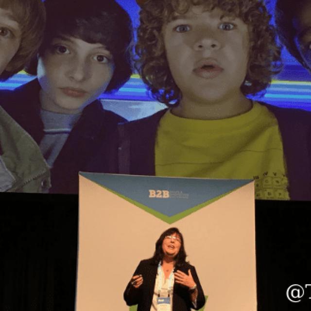 Sandra Freeman of Engagio Explains How to Avoid the ABM Upside Down World #B2BSMX