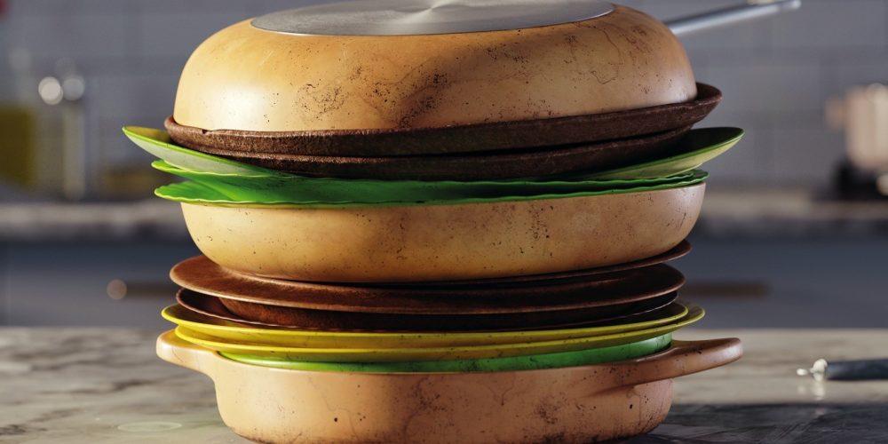 """""""Olvídate de fregar los platos"""", una divertida campaña gráfica de McDonald's"""