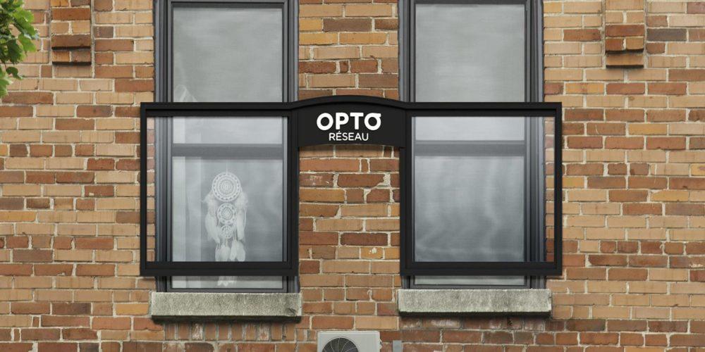 Esta óptica le ha puesto gafas a edificios para anunciarse en las calles de Montreal